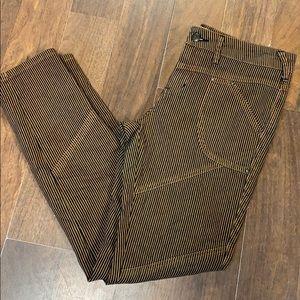 Free People stripe jean. Size28